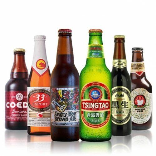Asiatische Biere
